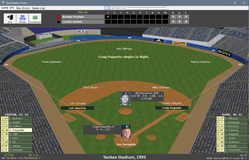 See more of Nostalgia Sim Baseball